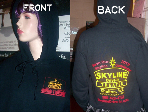 Skyline sweatshirts for sale!